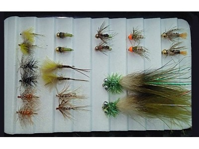 Selection of trout fishing opening