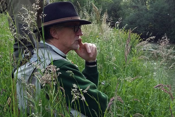 flyfishing in Alsace (France) with claude Behr