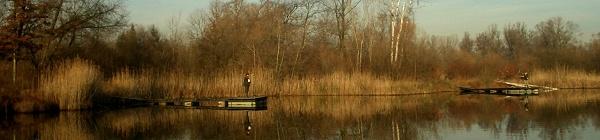 pêche dans le réservoir des cigognes
