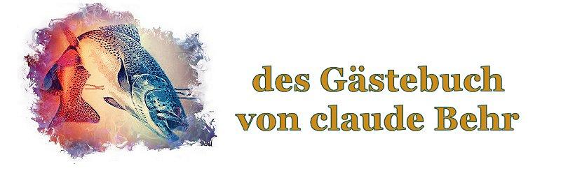 Gästebuch von Claude Behr