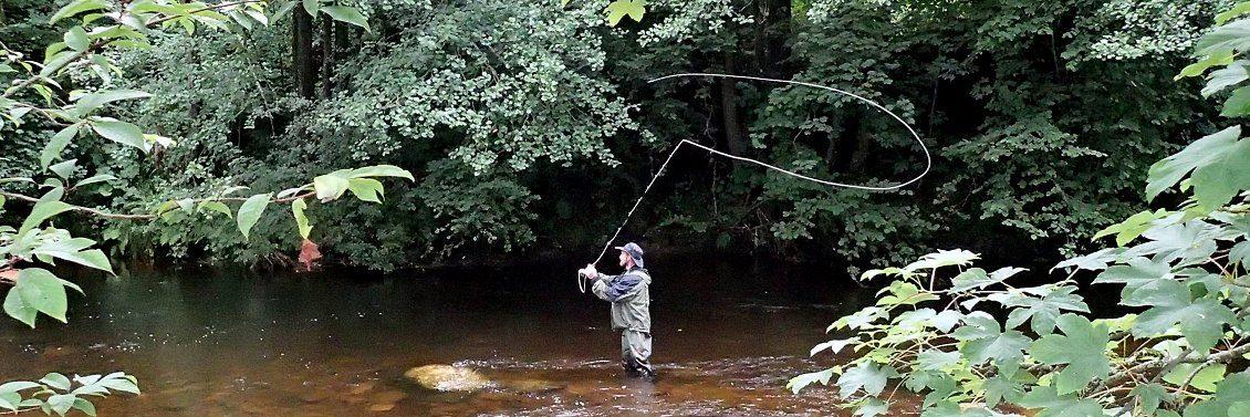Flyfishing in Alsace
